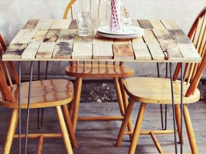 Madera Reclamada pallet-table-plans